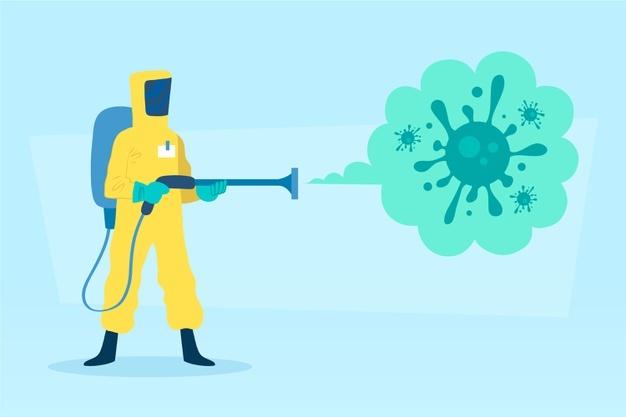 désinfection virus