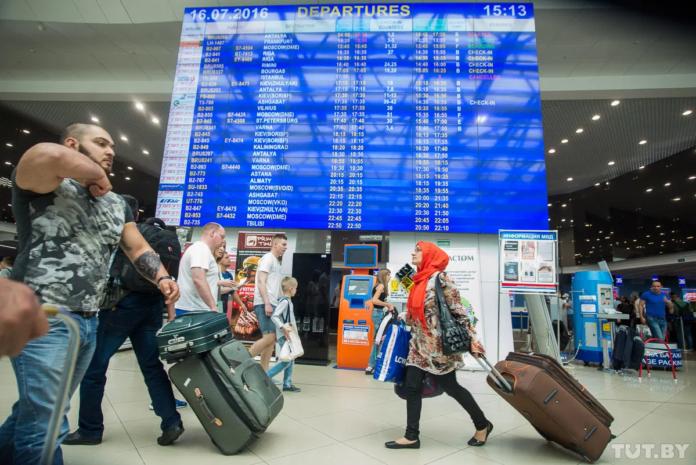touristes Belarus