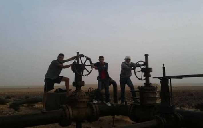 La production nationale de pétrole s'est élevée, le 8 novembre, à 30 687 barils, contre 36 500 barils, avant la fermeture de la vanne