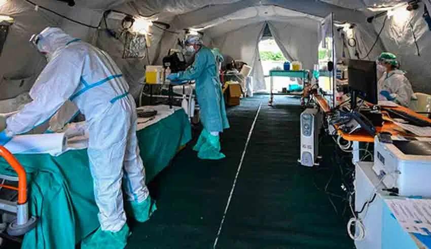 Coronavirus : 76 décès et 2859 nouvelles contaminations en 24 heures