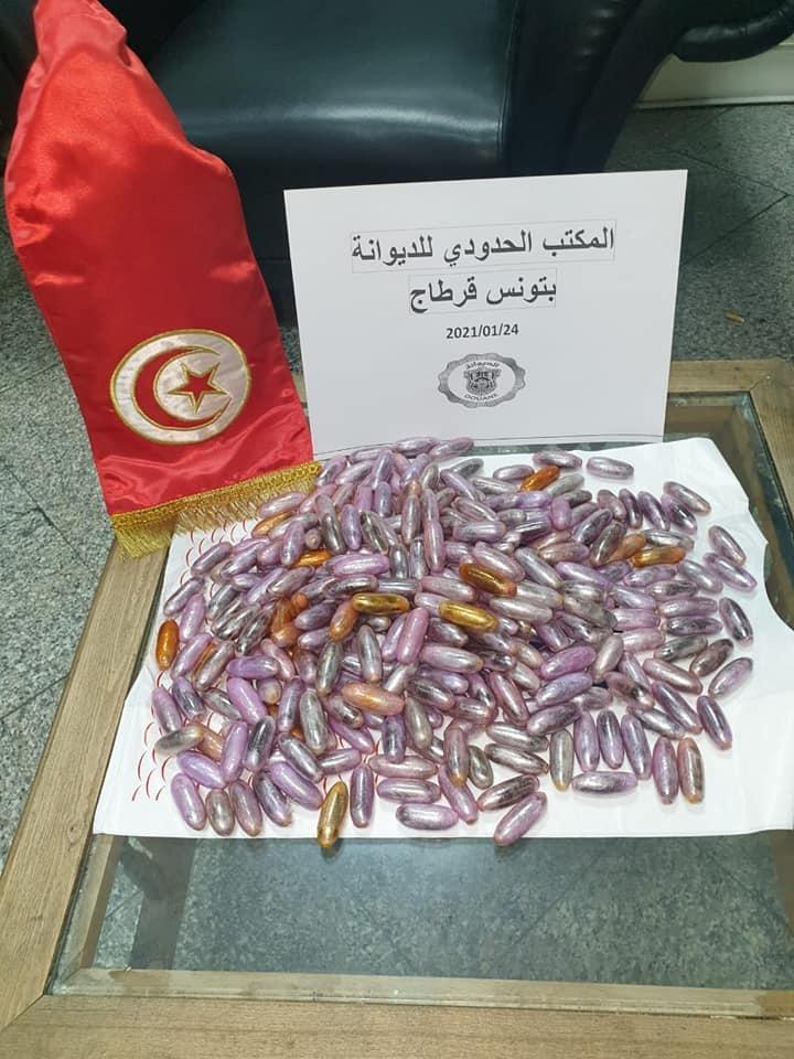 Mise en échec de deux tentatives de contrebande de cocaïne et de cannabis à l'aéroport de Tunis-Carthage