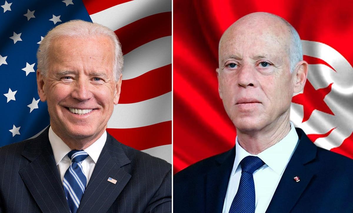 Saïed adresse un message de félicitations à Biden à l'occasion de sa prise de fonction