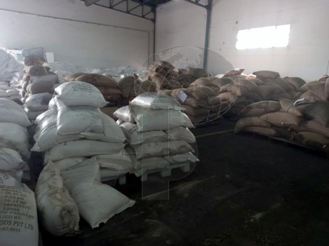 D'importantes quantités de riz, de café et de lait importées par l'OCT, sont avariées